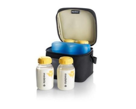 Medela Cooler Bag with Cooler Element 4 Breastmilk Bottles 150ml
