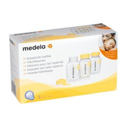 Medela Breastmilk Bottles Retail Pack 150ml (Pack of 3)