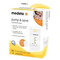 Medela P&S Bags with Easy Connect Adapter (Pack of 50)