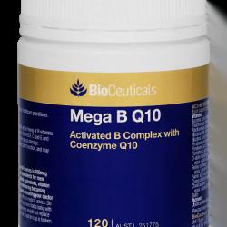 BioCeuticals Mega B Q10 120 CAPS