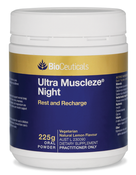 BioCeuticals Ultra Muscleze Night 225G