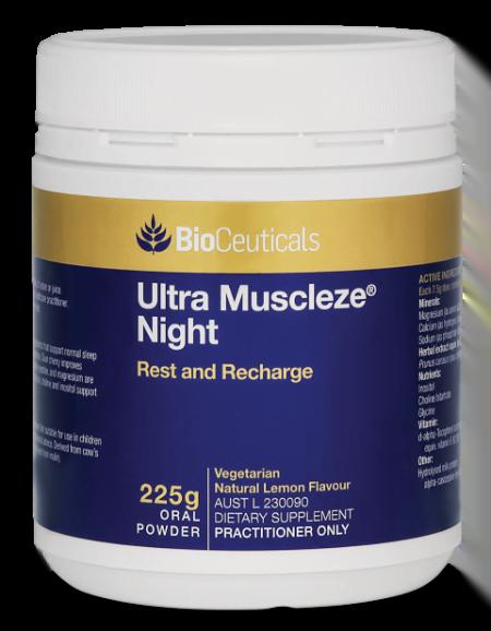 BioCeuticals Ultra Muscleze Night 225G