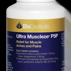BioCeuticals Ultra Muscleze P5P 120TAB