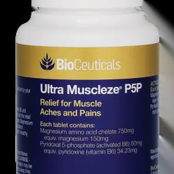BioCeuticals Ultra Muscleze P5P 60 TAB